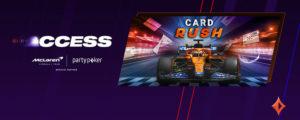 partypoker McLaren F1 Card Rush